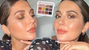 natural bronze makeup tutorial you