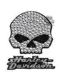 Cg337 Harley Davidson Willie G Gemz Bling Decal Kit Barnett Harley Davidson