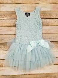 pastel green tutu style dress sz 2t