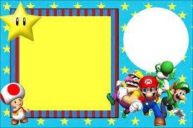 Invitaciones De Cumpleanos De Mario Bros Para Descargar Gratis 15