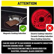 magnetic induction cooktop protector