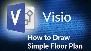 floor plan in microsoft visio