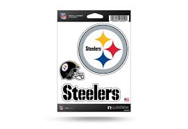 Nfl Football Pittsburgh Steelers Window Decal Sticker Set Officially Licensed Custom Sticker Shop