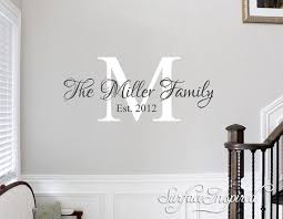Wall Decals Quote Personalized Family Name Wall Decal Name Etsy Vinyl Wall Decals Family Family Wall Decals Family Wall