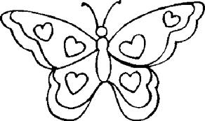 Amazing Cliparts Vlinder Kleurplaat Clipart 38 Yespress