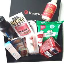 target womens beauty box tons of stuff