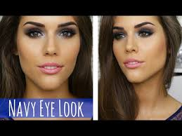 blue smokey eye makeup tutorial prom