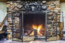 how to clean stone fireplace maid
