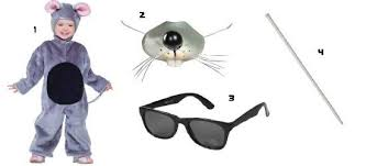 three blind mice costumes four