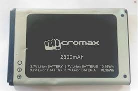 2800 mAh Battery for Micromax X281 ...