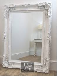 rectangle antique wall mirror