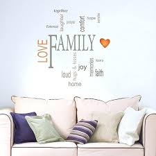 family quotes wall decal decals kids room design aromarte info