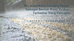 kata kata hujan dan kenangan bercerita tentang rindu dan cinta
