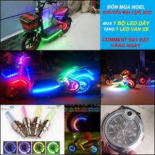 Đèn LED Xe đạp Xe máy - Home