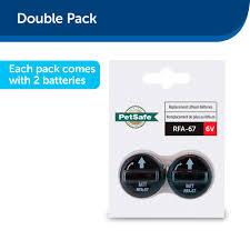 Petsafe 6 Volt Battery 2 Pack Petsuppliesplus Com