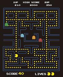 Pacman Video Game Sticker Tenstickers