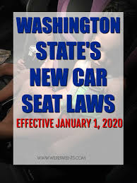 washington state car seat laws 2019