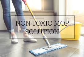 homemade non toxic mopping solution