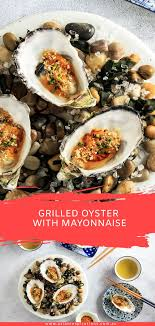 Grilled Oyster with Mayonnaise