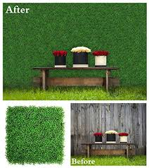 Uland Artificial Hedges Panels Boxwood Greenery Privacy Fence Screen Weddings Or Parties Background Walls Pubs Restaurants Green Plants Wall Office Home Kindergartens Garden Outdoor Decor On Galleon Philippines