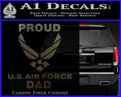 Proud Air Force Dad D2 Decal Sticker A1 Decals