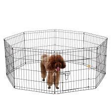 Ollieroo Dog Playpen With Door Exercise Pen Pet Fence Cage 8 Panel Small Walmart Inventory Checker Brickseek