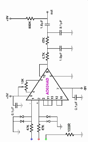 electrocardiogram ecg circuit diagram