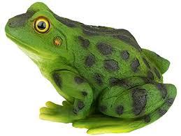 design toscano ribbit the frog garden