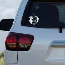 Horseshoe Decal Sticker Laptop Decal Mirror Decal Window Decal Car Decal Fancy Horseshoe