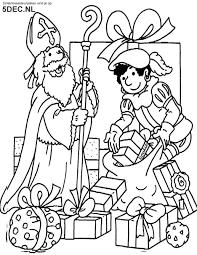 Sinterklaas Knutselen Sinterklaas Kleurplaten Sinterklaas