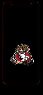wallpaper iphone 49ers logo