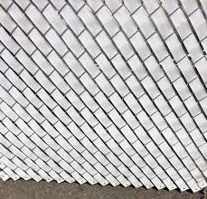 This Roll Of Fence Weave Is For A 2 Quot Chain Link Fence It Can Be Used To Create Different Alternating Patterns On Cha Fence Weaving Chain Link Fence Fence