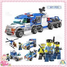 BỘ ĐỒ CHƠI LEGO LẮP GHÉP THÀNH PHỐ CẢNH SÁT CITY POLICE (BẢN CAO ...