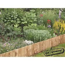 200mm x 5m treated garden edging