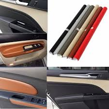 Advanced Auto Car Interior Sticker Diy Leather Texture Dashboard Trim Wrap Sheet Roll Film Sticker Decal Leather Foil Wish