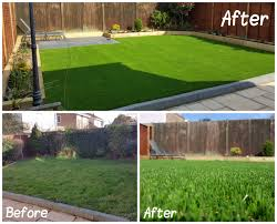 transformations using artificial grass