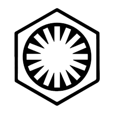 First Order Emblem Star Wars Vinyl Sticker