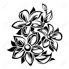 white ornament vector ilration