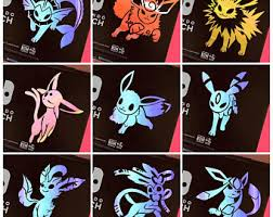 Umbreon Decal Etsy