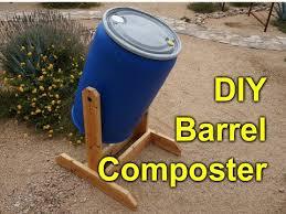 diy composter tumbler 55 gallon