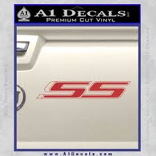 Chevrolet Ss Chevy Decal Sticker 3d A1 Decals