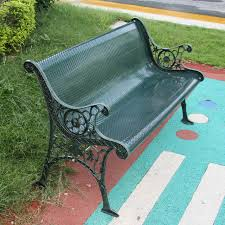 low iron park benches garden chairs