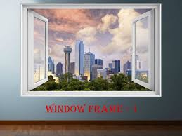 Dallas Decal Dallas Sticker Dallas Cityscape 3d Window Decal Vinyl Sticker Dallas Prints Large Decal Wall Decal Skyscaper Large Decal City Prints Window Decals