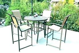 plastic chairs wicker table furniture