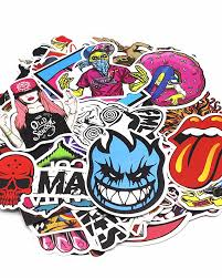 200 Pcs Pack Random Music Film Vinyl Skateboard Guitar Travel Case Sticker Car Decal Cute Stickers 5238507 2020 13 19