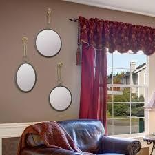 round nautical mirror