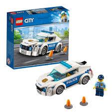 LEGO CITY Xe Tuần Tra Cảnh Sát 60239