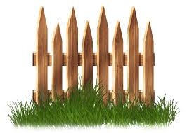 Fence Garden Lawn Clip Art Transparent Wooden Garden Fence With Grass Clipart Png Download 2392 1711 Free Transparent Fence Png Download Clip Art Library