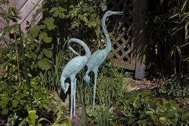 garden garden deco artwork figure metal