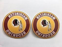 2x Washington Redskins 5 Nfl Football Team Logo Car Window Vinyl Decal Sticker